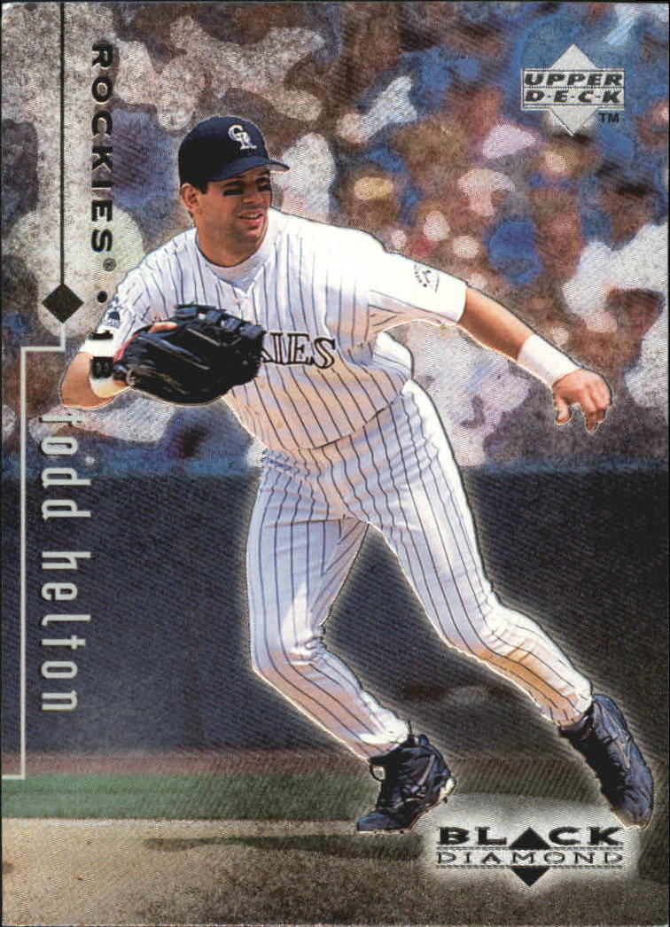 1999 Black Diamond #30 Todd Helton
