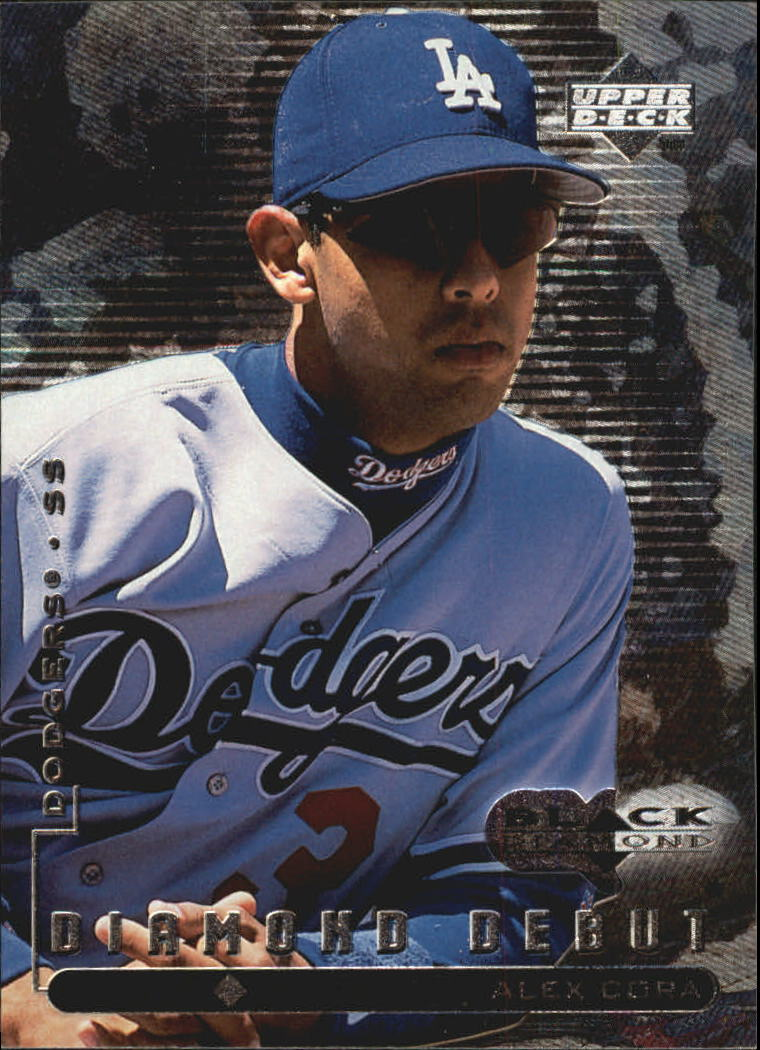 1999 Black Diamond #104 Alex Cora DD