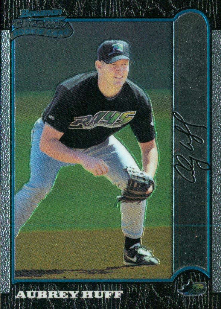 1999 Bowman Chrome #426 Aubrey Huff RC
