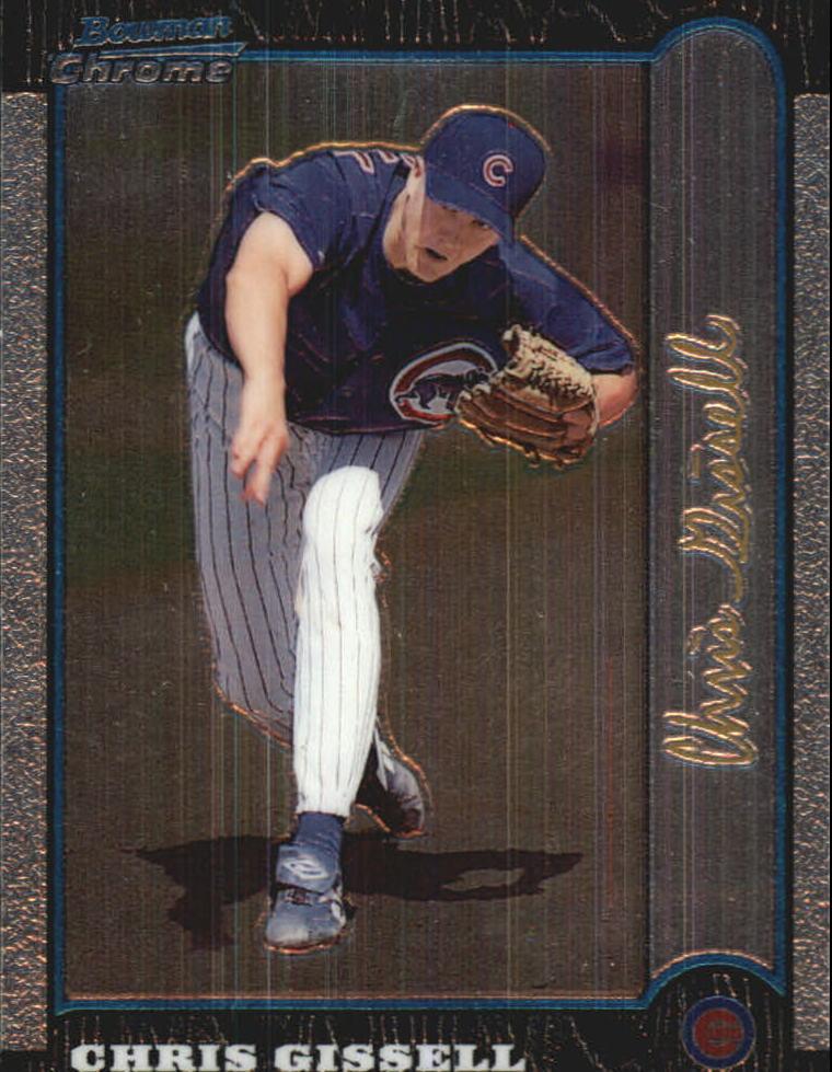 1999 Bowman Chrome Gold #199 Chris Gissell