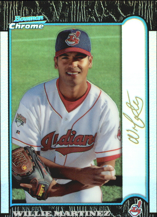 1999 Bowman Chrome Gold Refractors #319 Willie Martinez