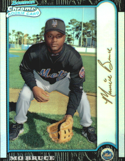 1999 Bowman Chrome Gold Refractors #325 Mo Bruce