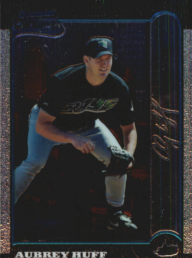 1999 Bowman Chrome International #426 Aubrey Huff