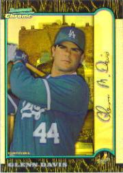 1999 Bowman Chrome International Refractors #119 Glenn Davis