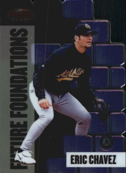1999 Bowman's Best Future Foundations Mach I #FF3 Eric Chavez