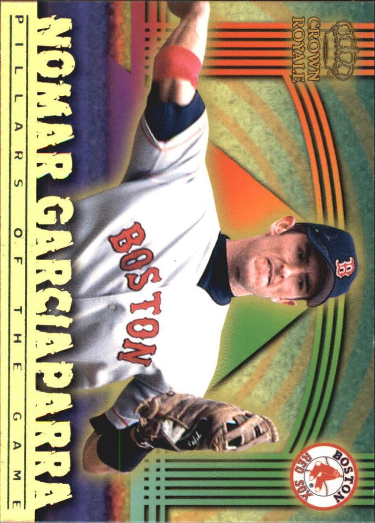 1999 Crown Royale Pillars of the Game #6 Nomar Garciaparra
