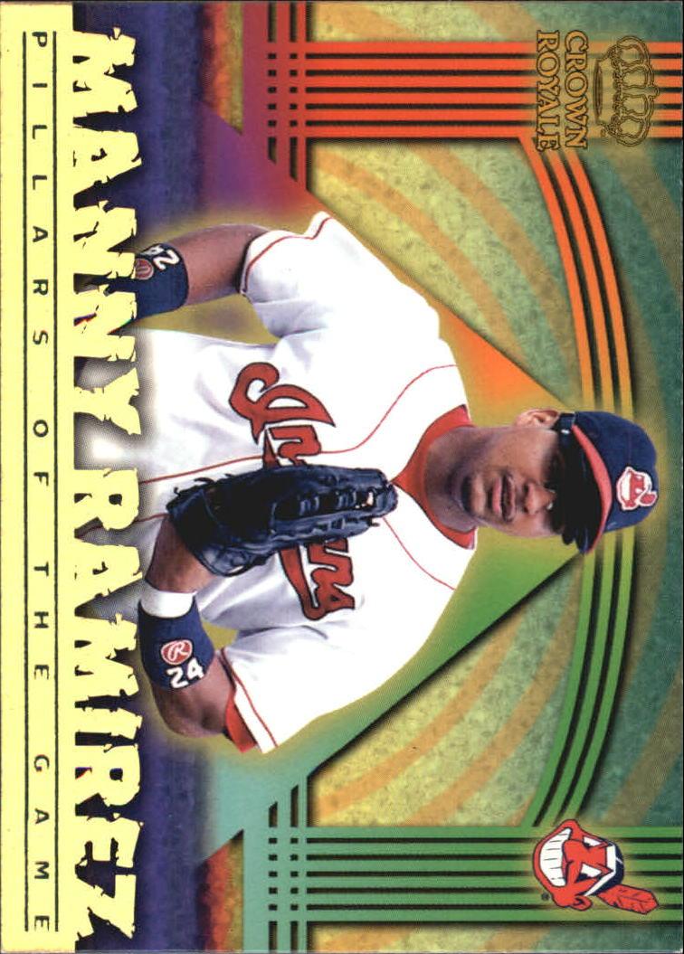 1999 Crown Royale Pillars of the Game #9 Manny Ramirez
