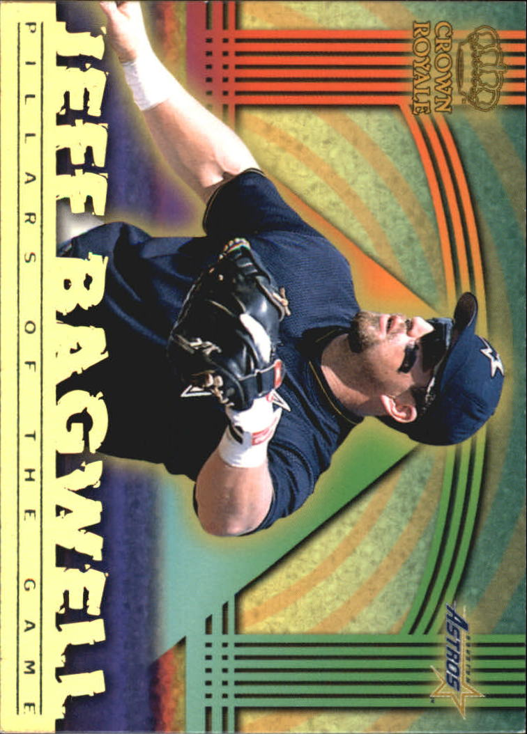 1999 Crown Royale Pillars of the Game #10 Jeff Bagwell