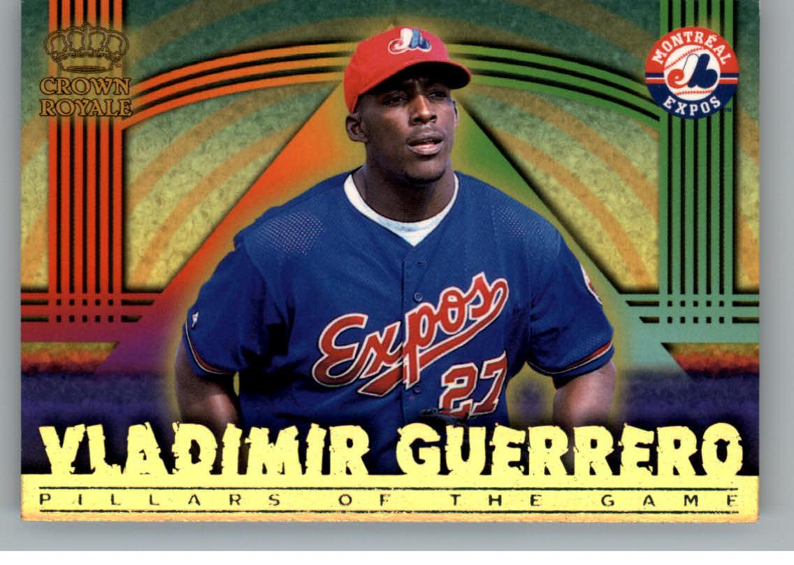 1999 Crown Royale Pillars of the Game #12 Vladimir Guerrero