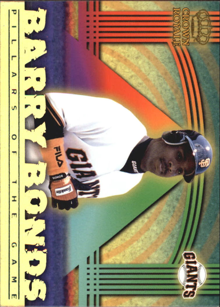 1999 Crown Royale Pillars of the Game #21 Barry Bonds