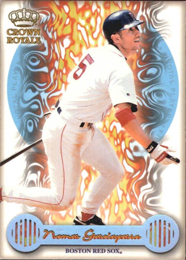 1999 Crown Royale Pivotal Players #6 Nomar Garciaparra