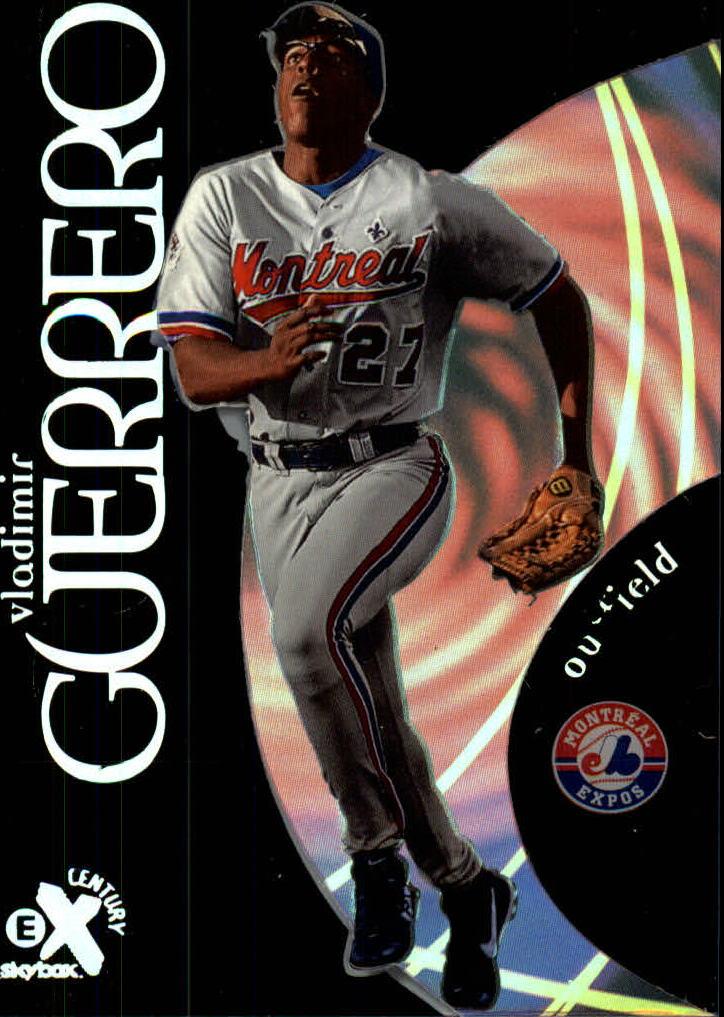 1999 E-X Century #7 Vladimir Guerrero