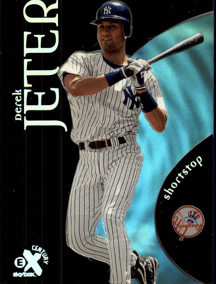 1999 E-X Century #9 Derek Jeter