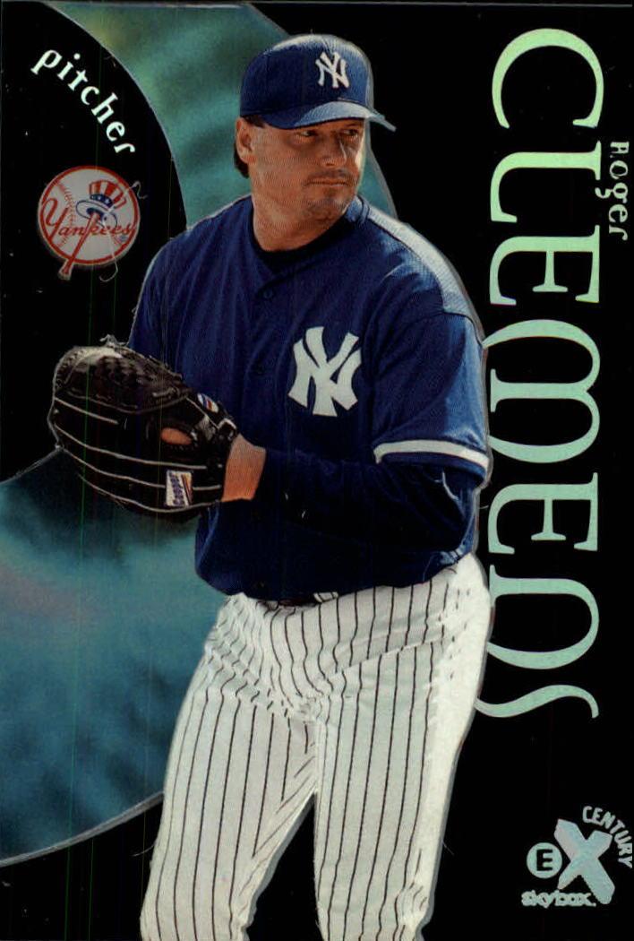 1999 E-X Century #18 Roger Clemens
