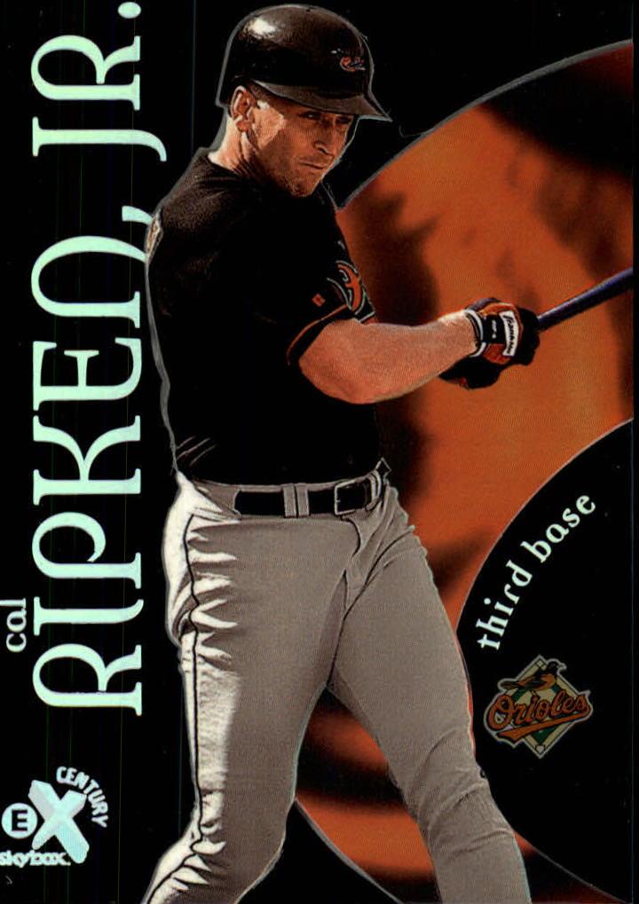 1999 E-X Century #19 Cal Ripken