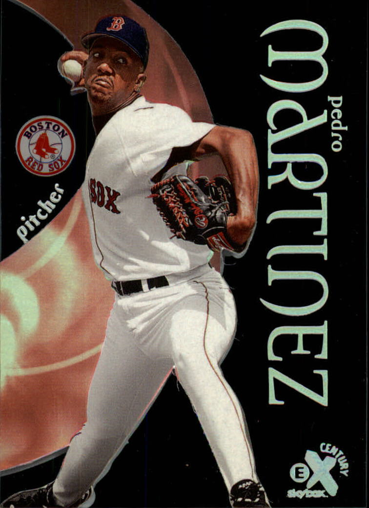 1999 E-X Century #23 Pedro Martinez
