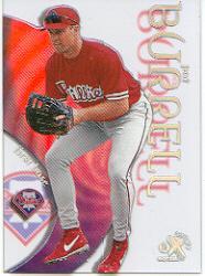 1999 E-X Century #104 Pat Burrell SP RC