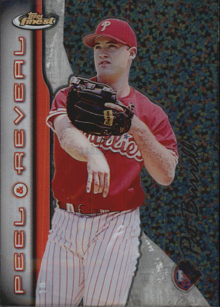 1999 Finest Peel and Reveal Sparkle #20 Pat Burrell