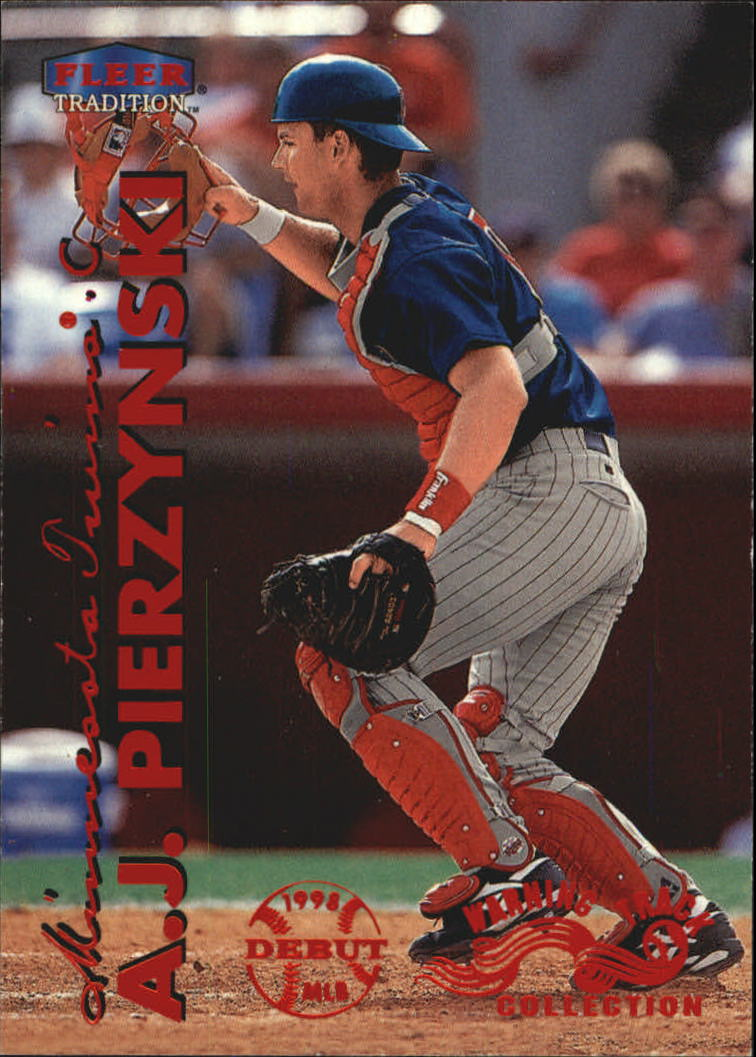 1999 Fleer Tradition Warning Track #487 A.J. Pierzynski