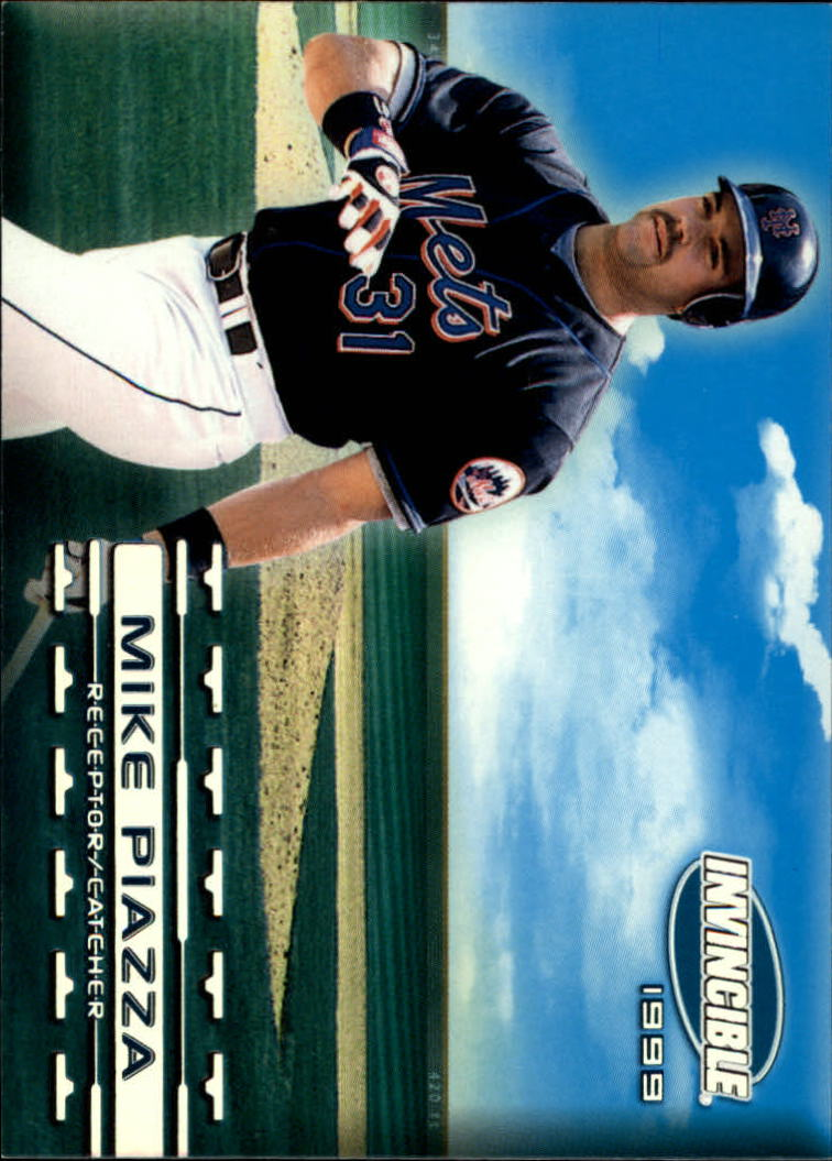 1999 Pacific Invincible Sandlot Heroes #10 Mike Piazza No Bat