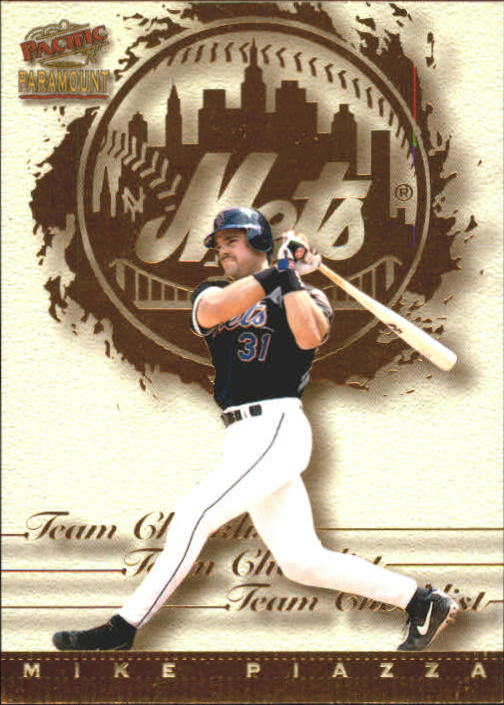 1999 Paramount Team Checklists #19 Mike Piazza