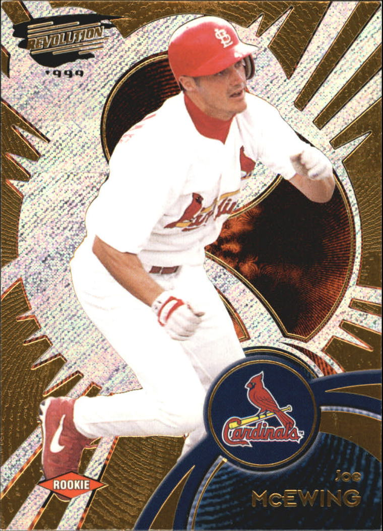 1999 Revolution #117 Joe McEwing SP RC