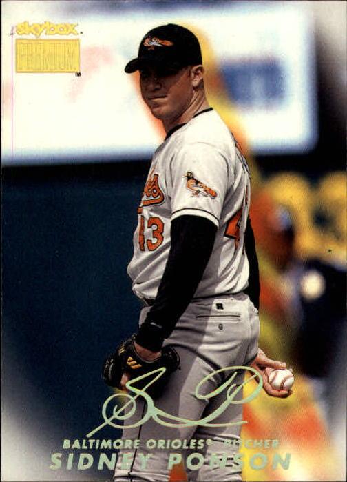 1999 SkyBox Premium #2 Sidney Ponson