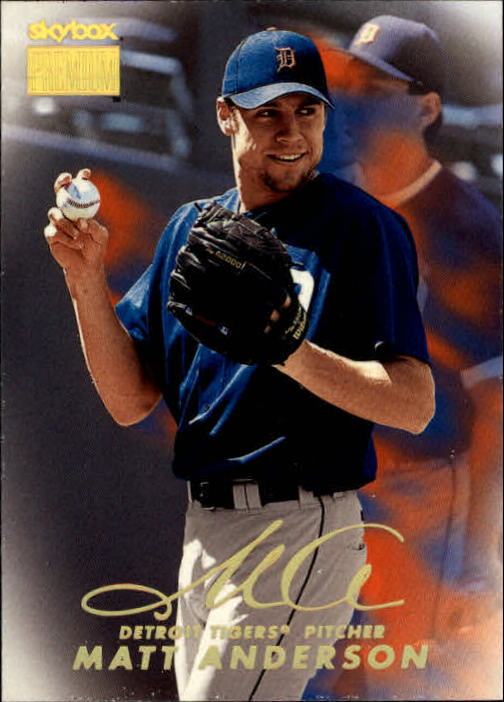 1999 SkyBox Premium #7 Matt Anderson