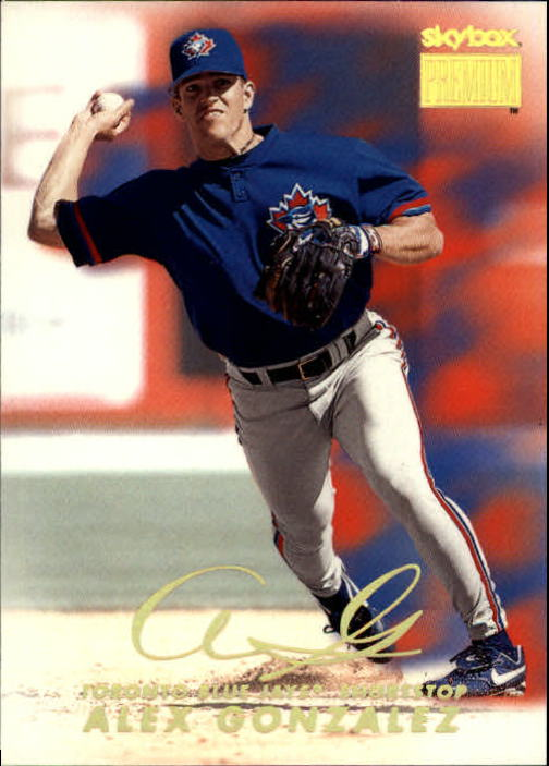 1999 SkyBox Premium #9 Alex Gonzalez