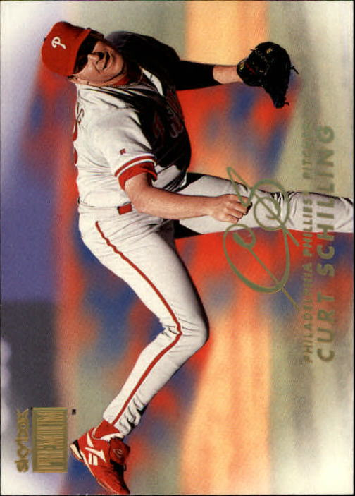 1999 SkyBox Premium #20 Curt Schilling