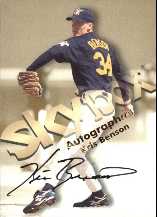 1999 SkyBox Premium Autographics #4 Kris Benson
