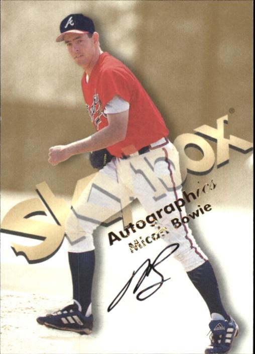 1999 SkyBox Premium Autographics #5 Micah Bowie