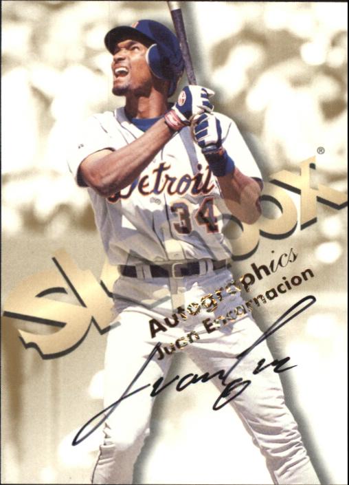 1999 SkyBox Premium Autographics #17 Juan Encarnacion