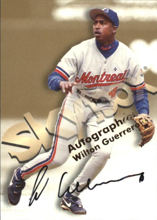 1999 SkyBox Premium Autographics #22 Wilton Guerrero
