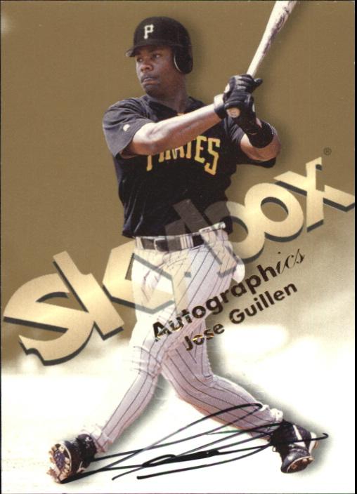 1999 SkyBox Premium Autographics #23 Jose Guillen