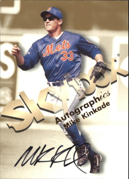 1999 SkyBox Premium Autographics #30 Mike Kinkade