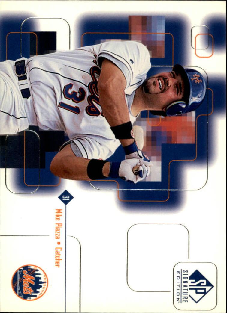 1999 SP Signature #11 Mike Piazza