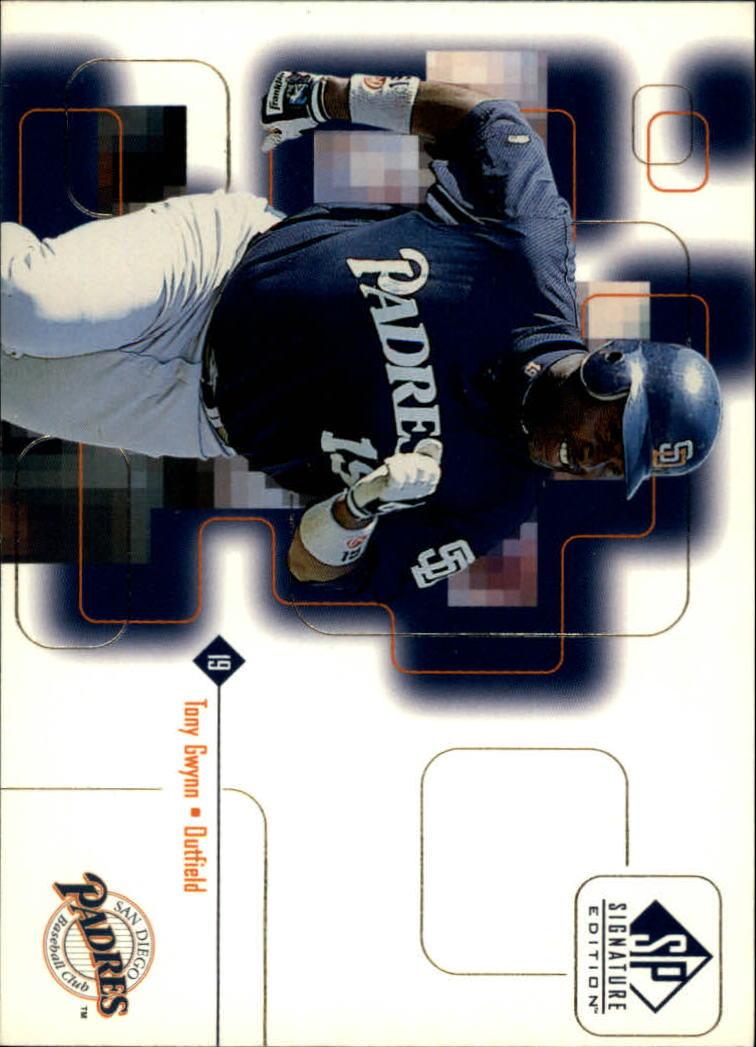 1999 SP Signature #13 Tony Gwynn