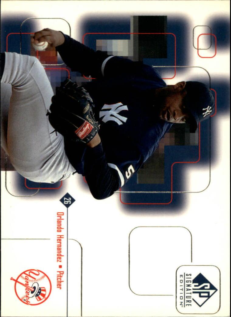 1999 SP Signature #14 Orlando Hernandez