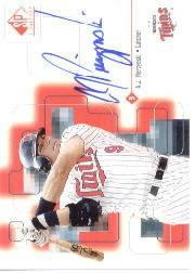 1999 SP Signature Autographs #AJP A.J. Pierzynski