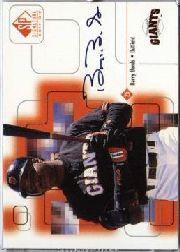 1999 SP Signature Autographs #BB Barry Bonds
