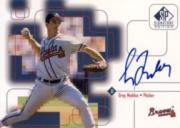 1999 SP Signature Autographs #GM Greg Maddux