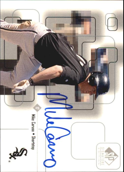 1999 SP Signature Autographs #MC Mike Caruso