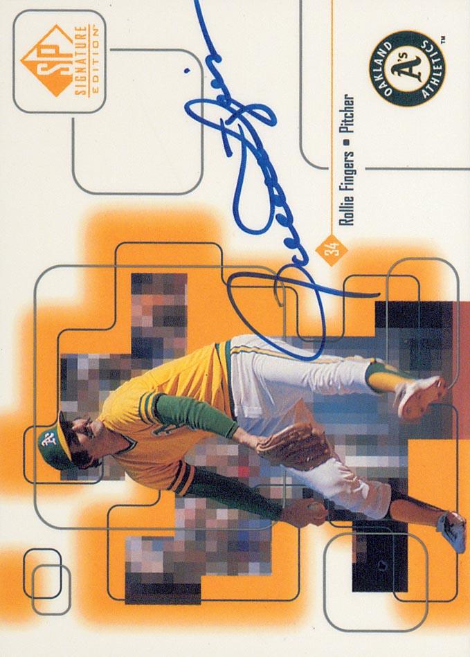 1999 SP Signature Autographs #ROL Rollie Fingers