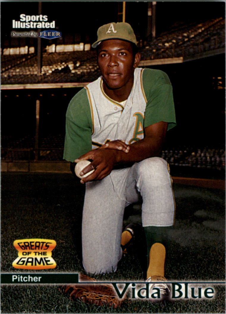 1999 Sports Illustrated Greats of the Game #61 Vida Blue
