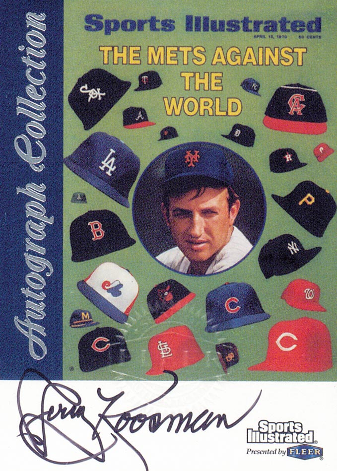 1999 Sports Illustrated Greats of the Game Autographs #41 Jerry Koosman