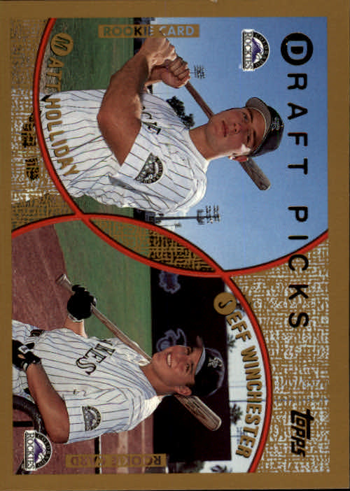 1999 Topps #442 M.Holliday/J.Winchester RC