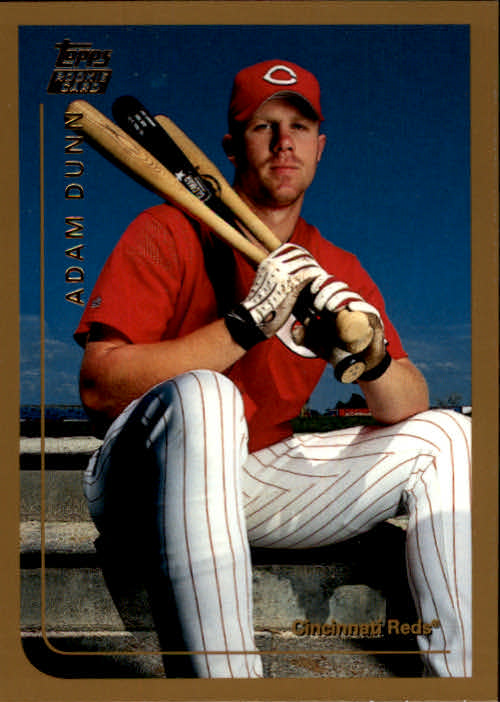 1999 Topps Traded #T50 Adam Dunn RC