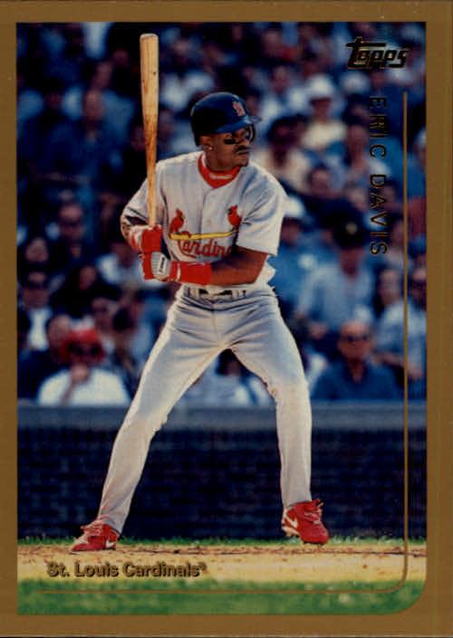 1999 Topps Traded #T89 Eric Davis