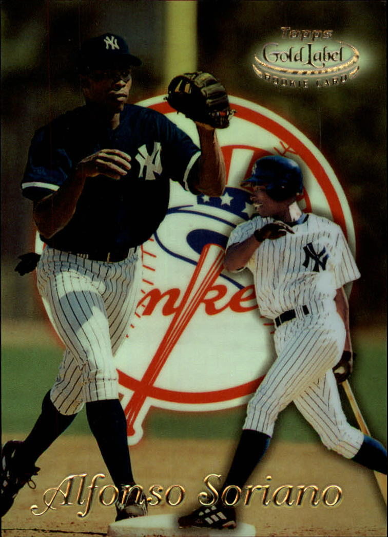 1999 Topps Gold Label Class 1 #30 Alfonso Soriano RC